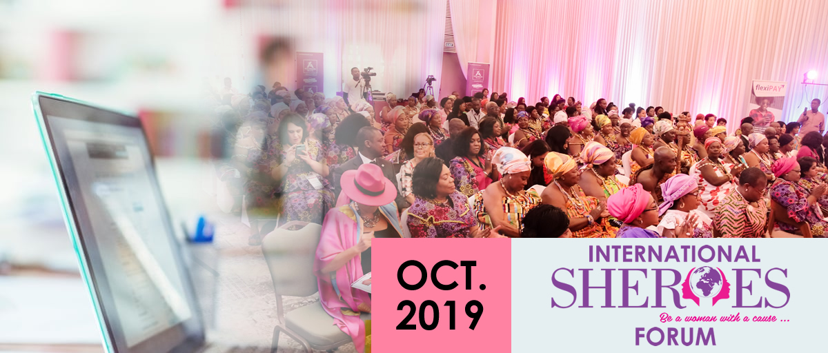 International SHEROES Forum, October 2019